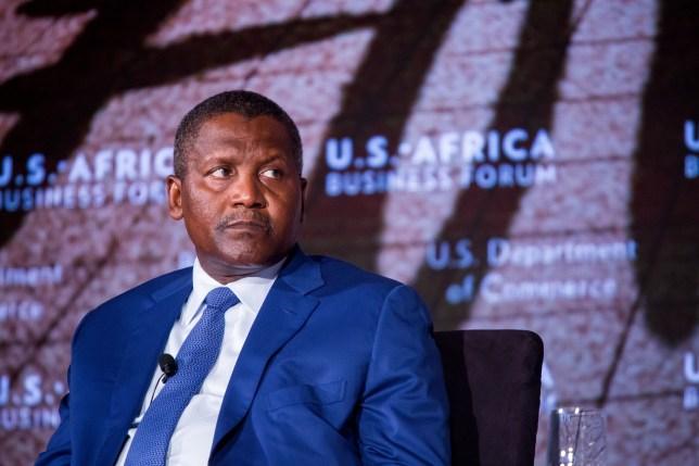 Arsenal news: Africa's richest man Aliko Dangote reveals