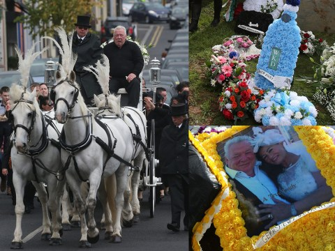 'Queen of the Travellers' buried in front of hundreds of mourners