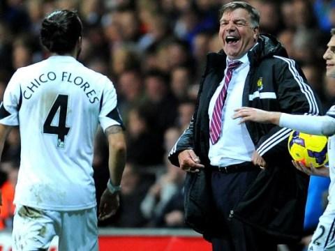 Chico Flores mocks England manager Sam Allardyce after recent scandal
