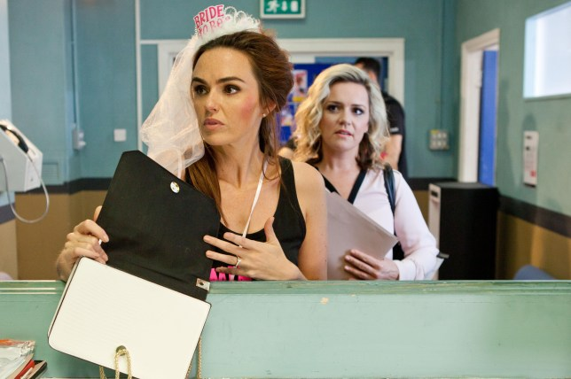 MERCEDES IS SHOCKED TO FIND THE DRUGS IN HER BAG EMBARGOED 20 SEPT