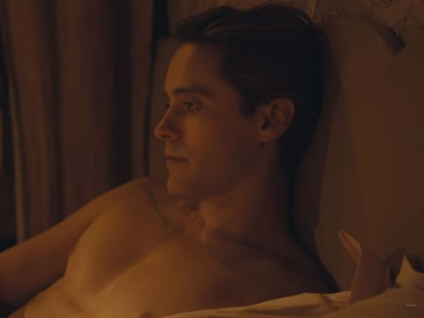 Jared Leto has a threesome in Gucci ad but he doesn't look like he enjoyed it