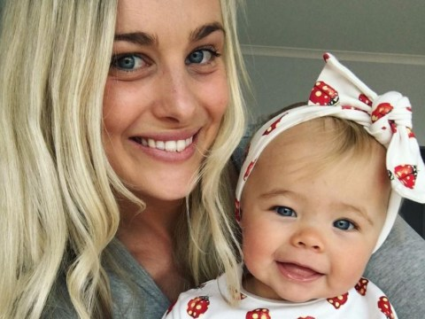 Sleep-deprived mum shares honest message about her teething daughter to show other mums they're not alone
