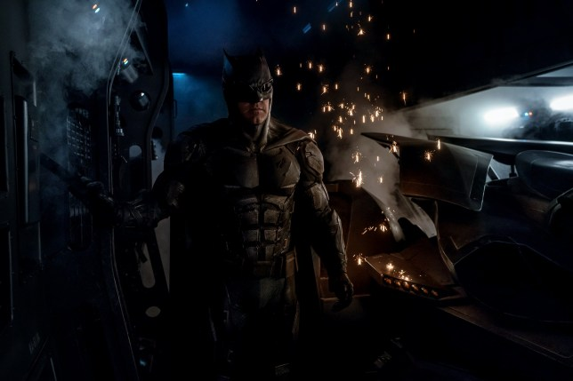 The new Tactical Batsuit revealed (Picture: Warner Bros/DC)
