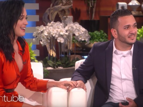 WATCH: Katy Perry cries as she meets Orlando survivor on the Ellen Show
