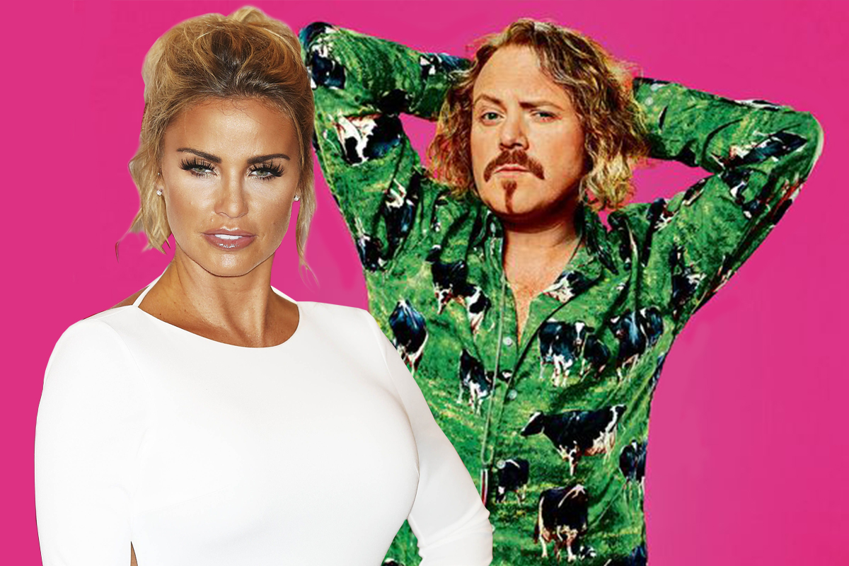 Keith Lemon has joked that Katie Price is the most boring Celebrity Juice contestant ever (Picture: ITV, Getty)
