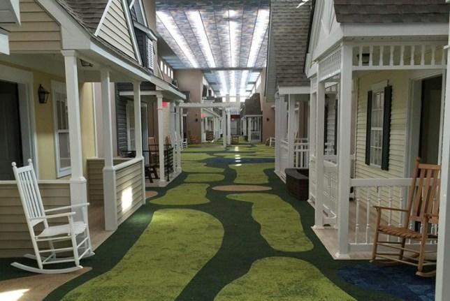 The Lantern nursing home in Ohio designed to look like a 40s neighbourhood