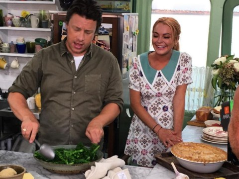 Lindsay Lohan to cook up a storm on Jamie and Jimmy's Friday Night Feast