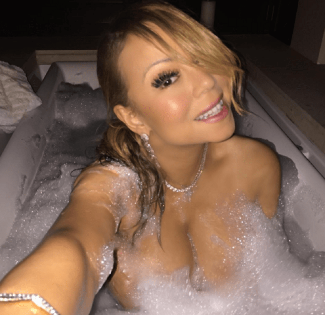 New music ahoy! Mariah Carey has given fans a sizzling update on her career (Picture: Instagram)