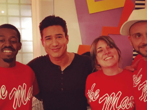 Mario Lopez returns to Saved By The Bell high school (sort of)