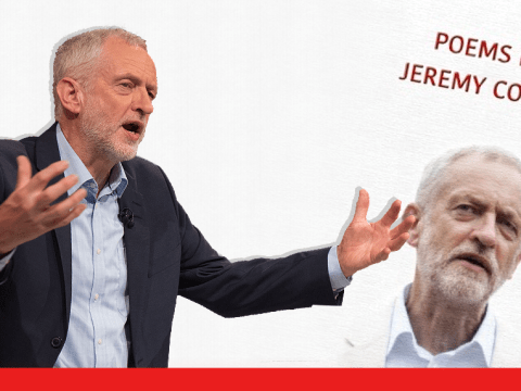 It looks like a book of poems about Jeremy Corbyn is going to be released