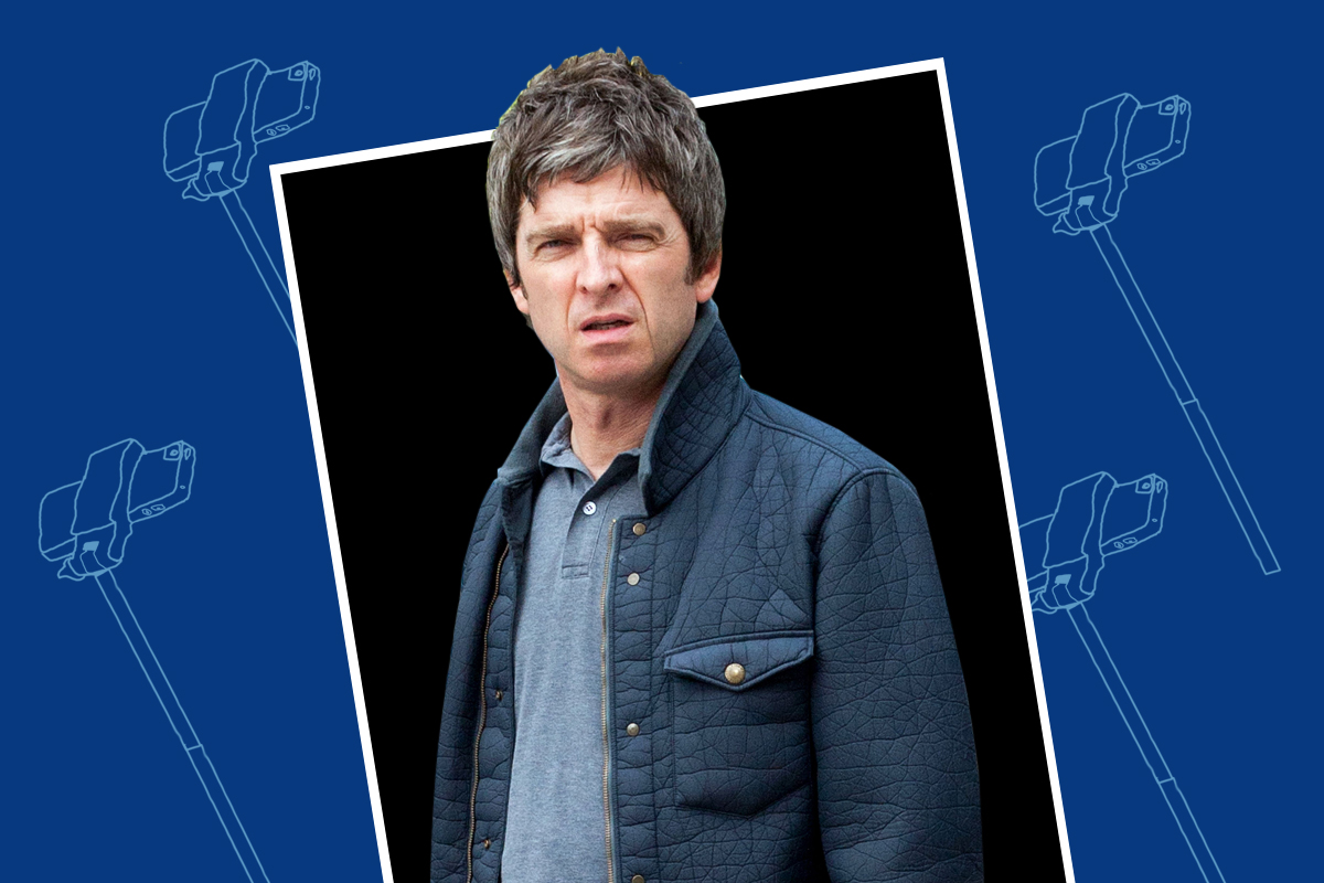 Noel Gallagher casually tells selfie-hunters to 'go f**k themselves' all the time