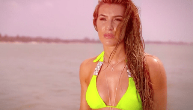 Ex On The Beach S5E4 Lillie Lexie Gregg (Picture: MTV)