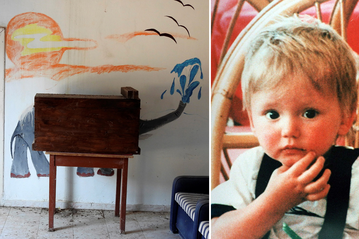First pictures released of the farmhouse Ben Needham disappeared from