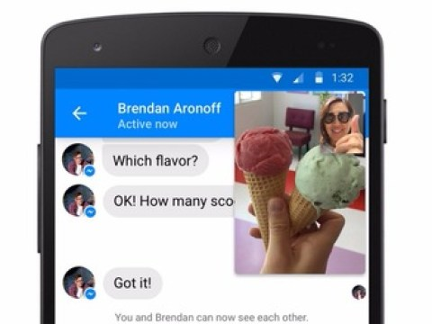 Facebook Messenger launches video chat that lets you text at the same time