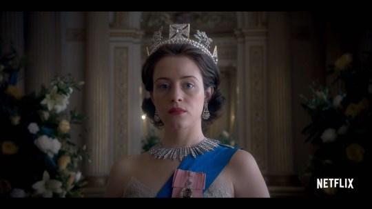 Claire Foy as Queen Elizabeth II (Picture: Netflix)