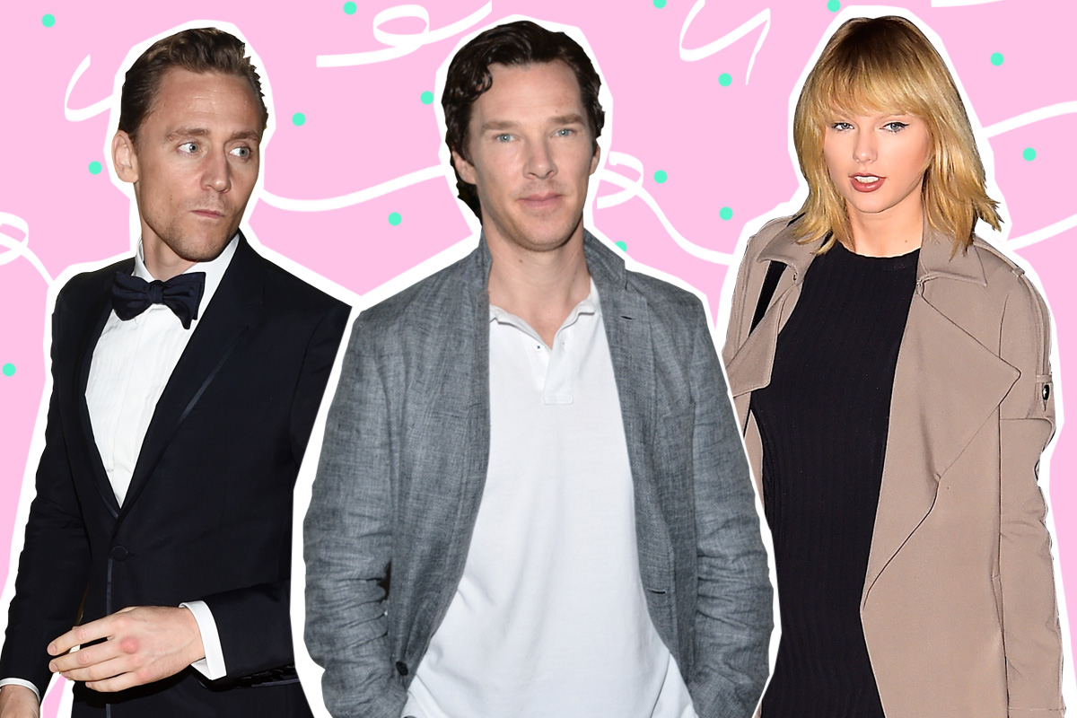 Benedict Cumberbatch chickens out of asking Tom Hiddleston about Taylor Swift