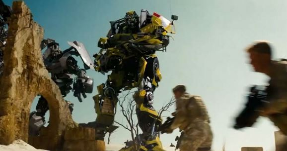 Production stills from the set of Transformers: The Last Knight have been released (Picture: Paramount)