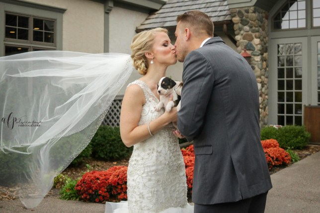 These Pit Bull Rescue Pups Are 100 Times Better Than Any Wedding Bouquet