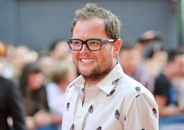 LONDON, ENGLAND - JULY 24: (EMBARGOED FOR PUBLICATION IN UK TABLOID NEWSPAPERS UNTIL 48 HOURS AFTER CREATE DATE AND TIME. MANDATORY CREDIT PHOTO BY DAVE M. BENETT/WIREIMAGE REQUIRED) Alan Carr attends the London Premiere of 'Alan Partidge: Alpha Papa' at Vue Leicester Square on July 24, 2013 in London, England. (Photo by Dave M. Benett/WireImage)