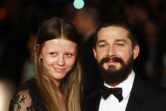Did Mia Goth and Shia LaBeouf really get married in Las Vegan? (Picture: Fred Duval/FilmMagic)