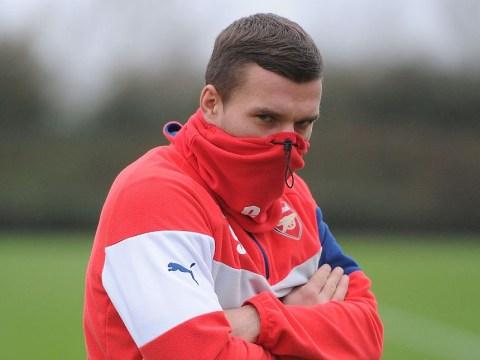 Arsenal cult hero Lukas Podolski trolls Jose Mourinho as Manchester United capitulate against Chelsea