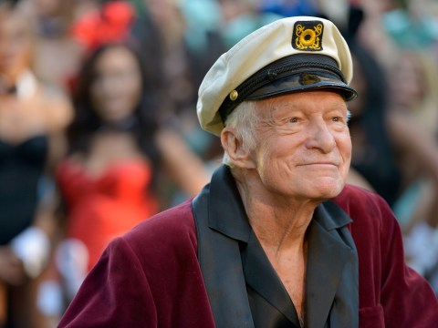 Hugh Hefner has a message for the tabloids following 'super sick' health scare reports
