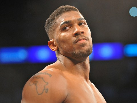 Anthony Joshua camp face nervous wait over December Wladimir Klitschko clash after WBA belt comes into play