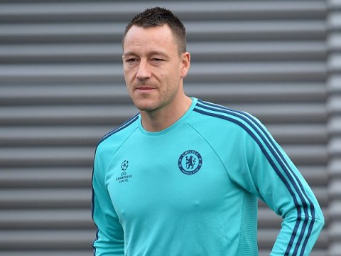John Terry back in training as Chelsea prepare to take on Leicester City