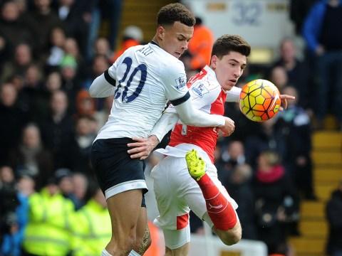 Dele Alli wins Tottenham vs Arsenal five shot challenge after beating Hector Bellerin