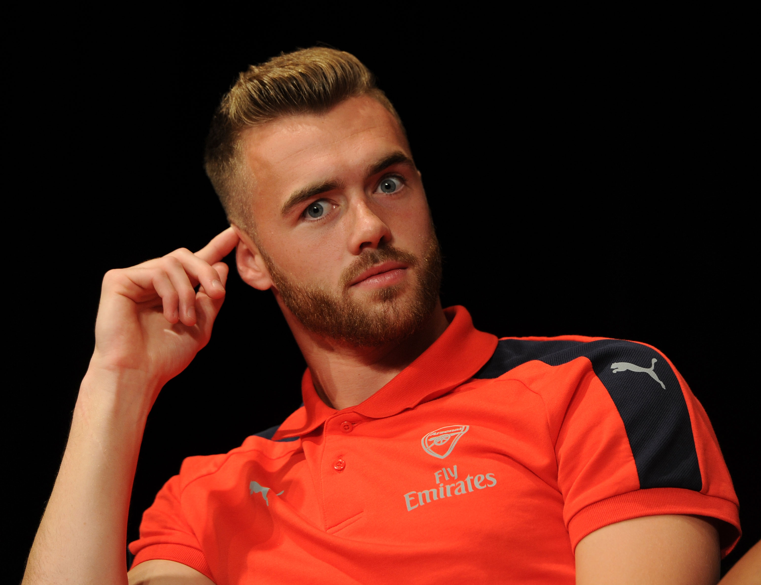 Calum Chambers keeps fans guessing with Arsenal vs Middlesbrough tweet