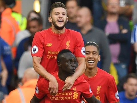 Liverpool attacker Adam Lallana just cannot believe how quickly Sadio Mane has settled