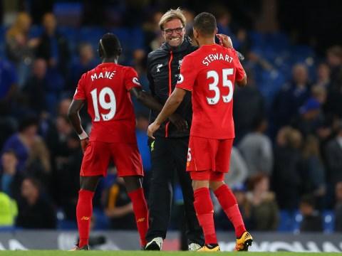 Liverpool boss Jurgen Klopp believes Kevin Stewart is his side's best challenger of the ball