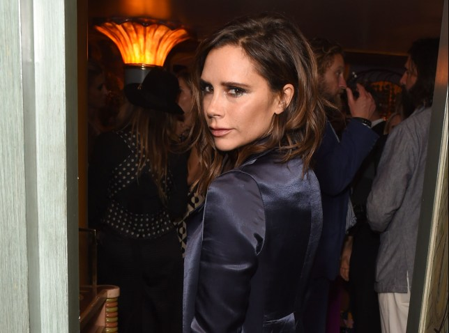 """LONDON, ENGLAND - SEPTEMBER 18: Victoria Beckham attends the launch of """"Vogue: Voice Of A Century"""", a new book celebrating Vogue Britain's centenary year, hosted by Alexandra Shulman at 5 Hertford Street during London Fashion Week Spring/Summer collections 2017 on September 18, 2016 in London, United Kingdom. (Photo by David M. Benett/Getty Images)"""