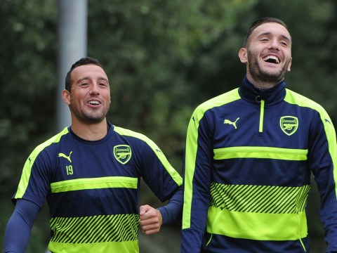 Lucas Perez returns to Arsenal training ahead of schedule after injury lay-off
