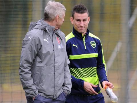Arsenal star Laurent Koscielny reveals why you can't accuse Arsene Wenger of lacking 'b****'