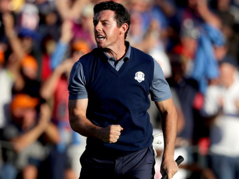 Rory McIlroy silences 'hostile' Ryder Cup crowd after sinking perfect walk-off eagle