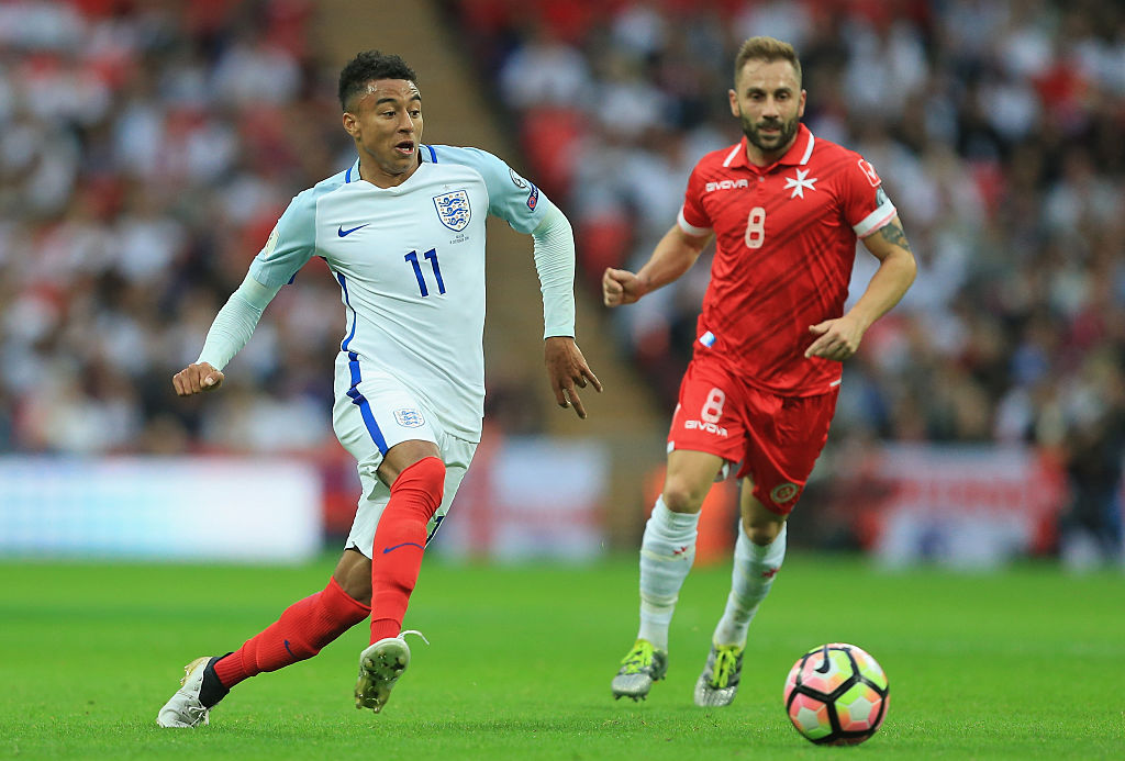 England boss Gareth Southgate gives Manchester United's Jesse Lingard high praise after Malta victory