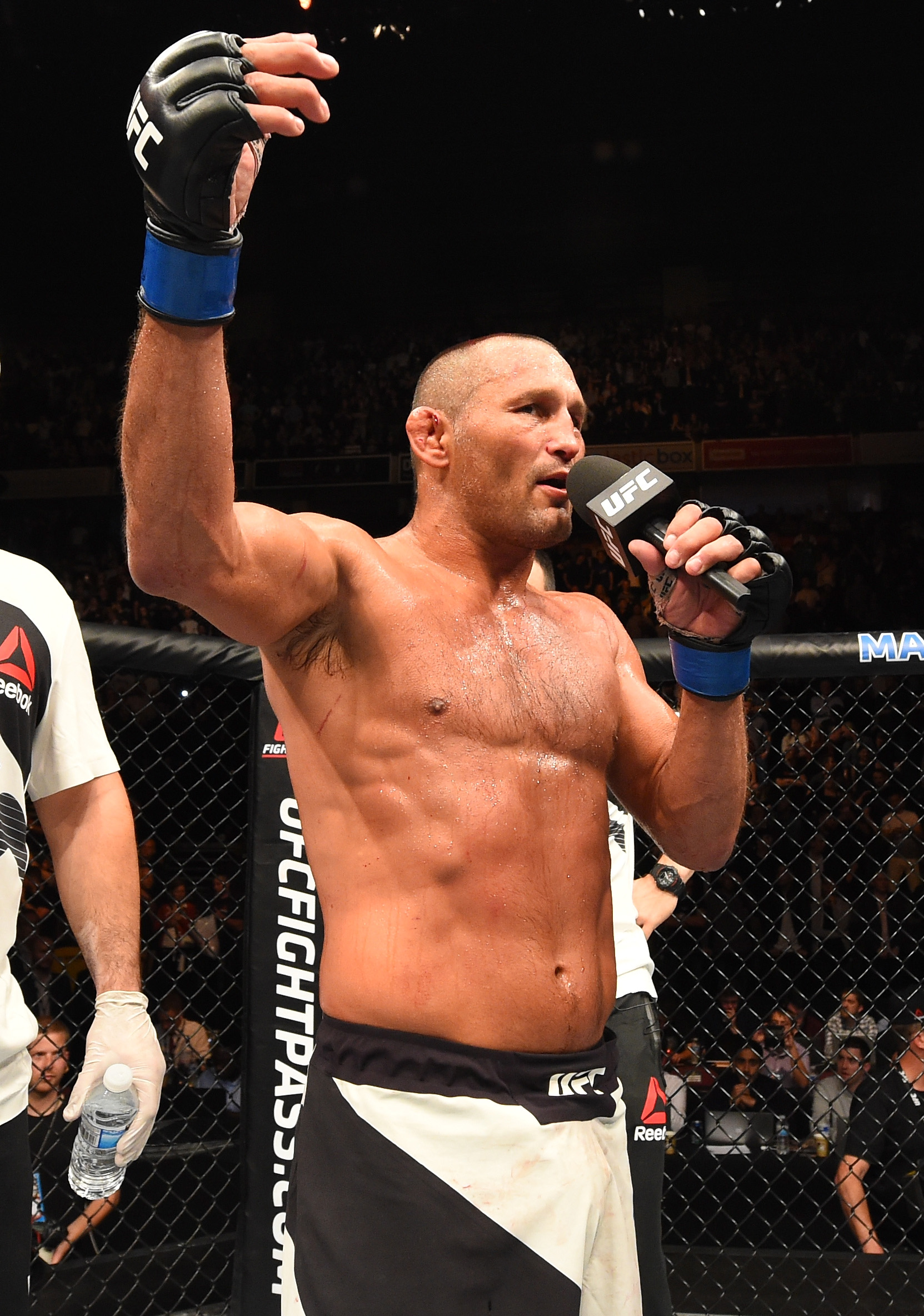 Dan Henderson is so pissed off about Michael Bisping's UFC 204 victory he is ready for third fight