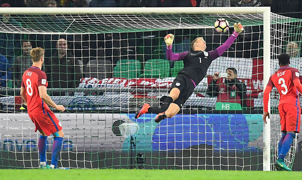 Slovenia 0-0 England: Eric Dier and Jordan Henderson struggle as Joe Hart shows Pep Guardiola what he's missing at Manchester City