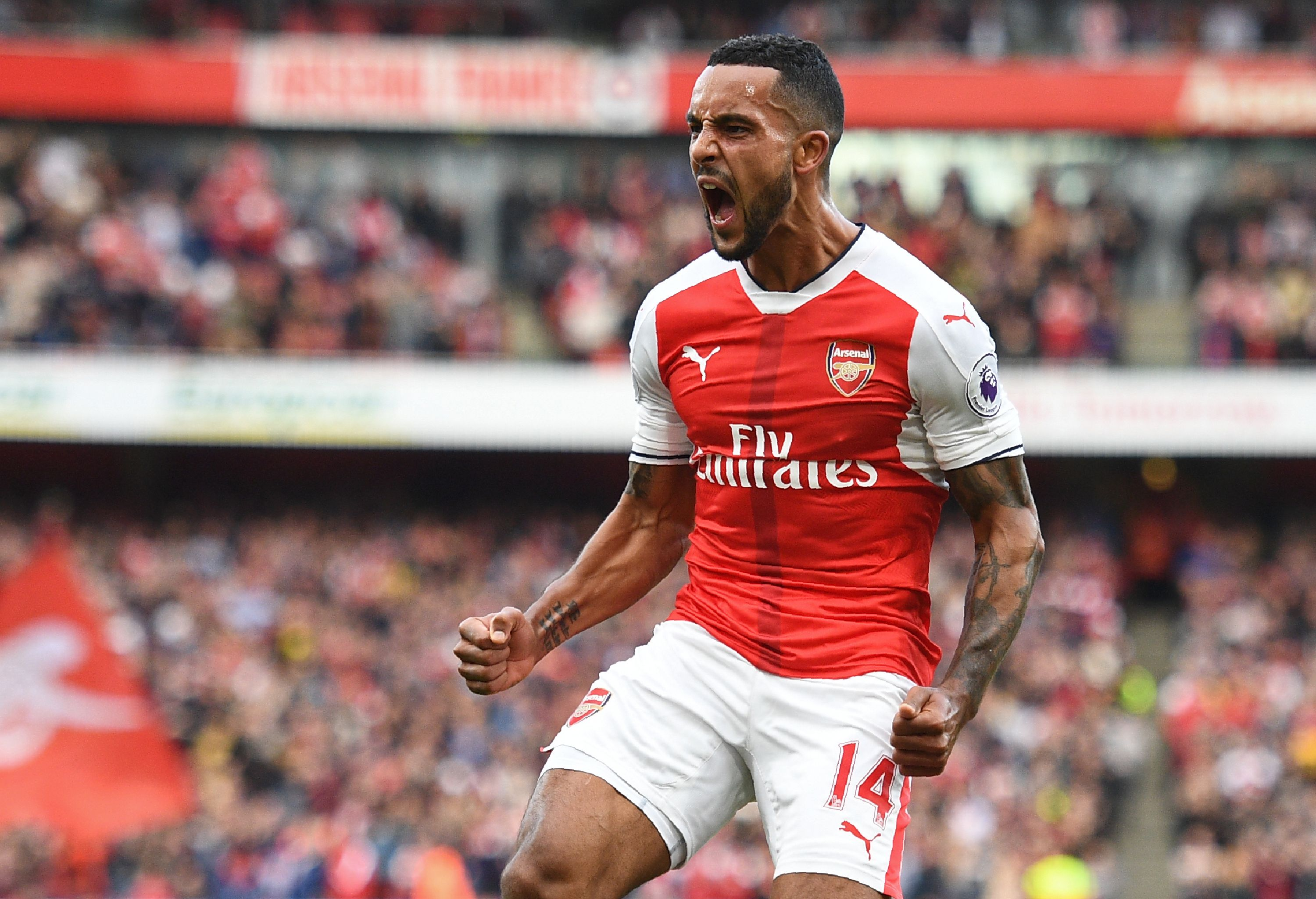 Theo Walcott and Eden Hazard nominated for October PFA Player of the Month award