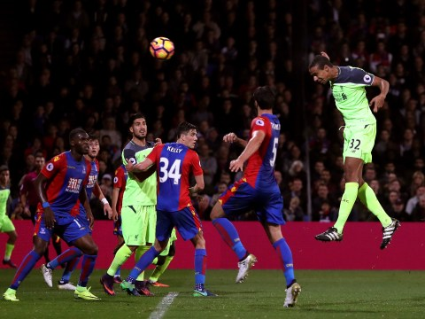 Crystal Palace 2-4 Liverpool: Reds survive frenetic first half to keep up with rivals