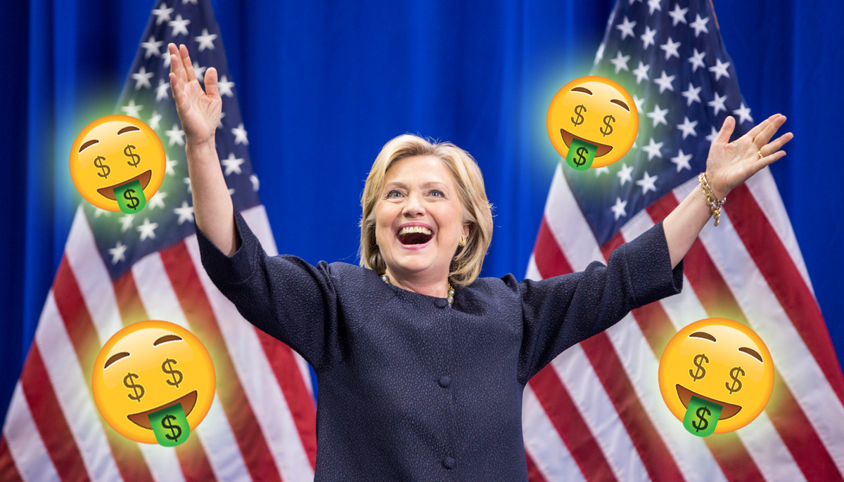 Bookies already paying out to people who bet on Hillary becoming president