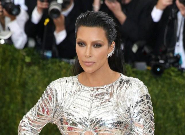Kim Kardashian was held at gunpoint Picture: EPA)