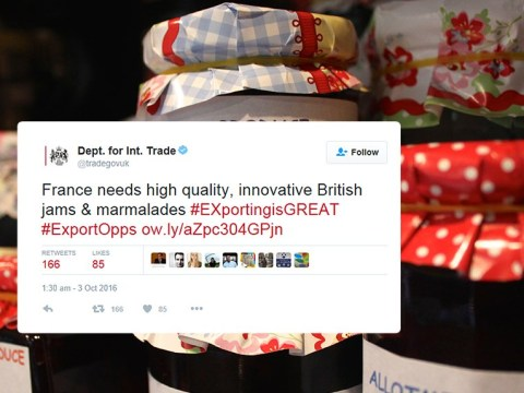 Stay calm, Brexit-worriers: Liam Fox has a plan to sell 'innovative British jams and marmalade'