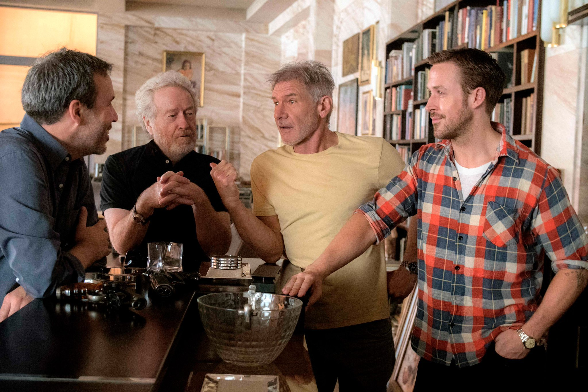 Ryan Gosling reveals what it was like to work with Harrison Ford on Blade Runner 2049