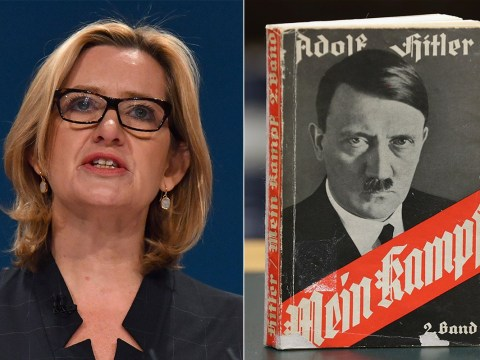 Quiz: Who said it – Amber Rudd or Adolf Hitler?