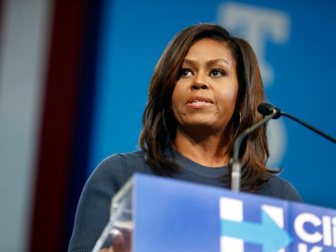 Michelle Obama tears into Donald Trump for degrading comments about women in powerful speech