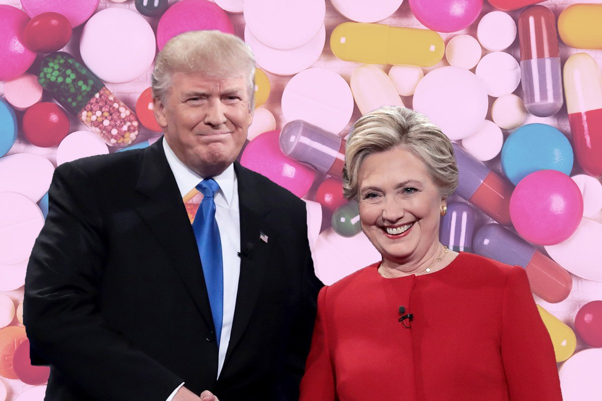 Donald Trump suggests Hillary Clinton took drugs before their last debate