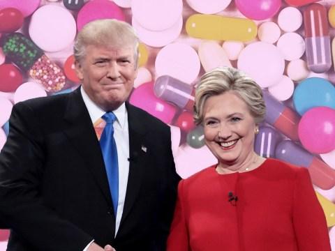 Donald Trump suggests Hillary Clinton took drugs before their last debate