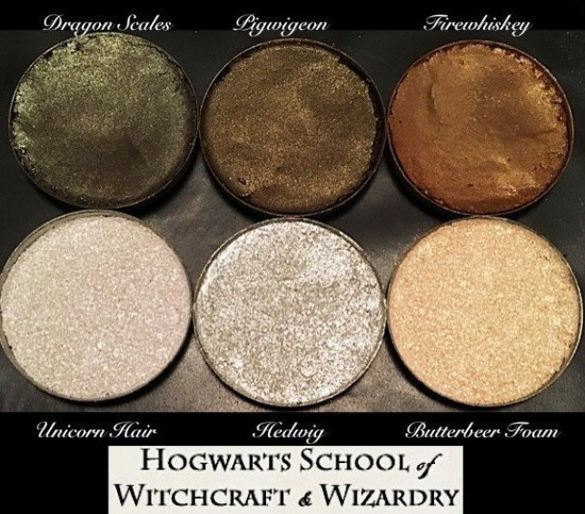 Harry Potter makeup.jpg This Harry Potter highlighting palette is all kinds of magical credit and link: Etsy/AWhimsicalWillow https://www.etsy.com/listing/472904104/the-hogwarts-highlight-and-contour?source=aw&awc=6091_1477303062_e0c069df6a41e10d2246aa8b10d3c224&utm_source=affiliate_window&utm_medium=affiliate&utm_campaign=uk_location_buyer&utm_content=78888